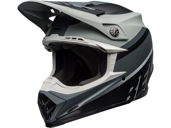 BELL Moto-9 Mips Helm Prophecy Matte Gray/Black/White